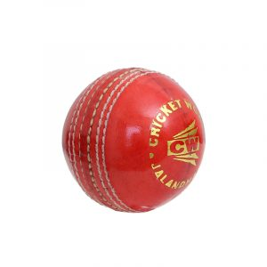 CW Winn Red Cricket Ball Red Leather Ball 50 Over Match Quality Leather Ball 4 PCE Seasoned Leather Ball Cork Ball Cork Inner Hard Leather Ball For English Willow Or Kashmir Willow Bat Pack of 3 Weight 156gm