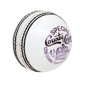 Spcl. County Crown Test Match Women Cricket Ball 4PCE Hardball White Pack of 3
