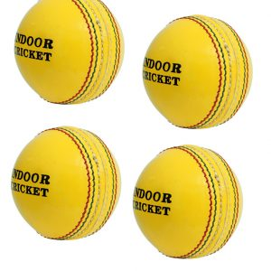 CW Indoor Cricket Leather Ball Set