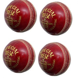 CW Pack of 4 Special Test Red Leath