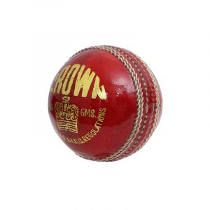 CW CROWN Cricket Balls Leather Red