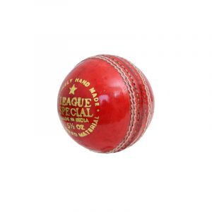CW League Special Cricket Red Leath