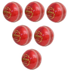 CW Maestro Red Cricket 4PC Leather
