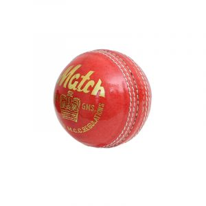 CW MATCH Pure Leather Cricket Ball