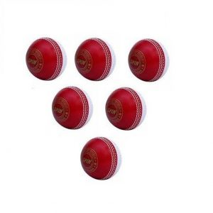 CW Set of 6 Spin Poly Soft PVC Red