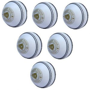 CW Spin Cricket Balls Set Pack of 6