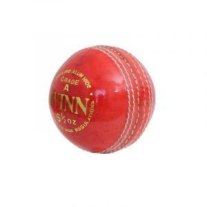 CW Red Leather Cricket Ball...