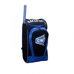 CW BACKPAK BLUE BLACK SPORTS KIT BAG CRICKET BAG SPORT BACKPACK CRICKET BAG Cricket Bag Pack, Kit Bag