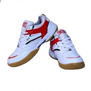 EXCEL Badminton/Tennis Shoes PU for Men with Non Marking Sole Indoor Sports Trainer Professional