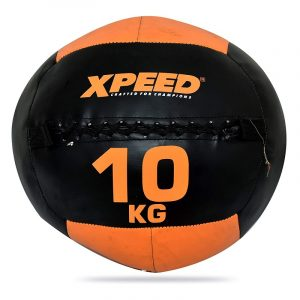XPEED Wall Ball Soft Coated Heavy Exercise Wall Ball Cross fit Ball Unisex Strength Gym Ball for Workout Fitness Training