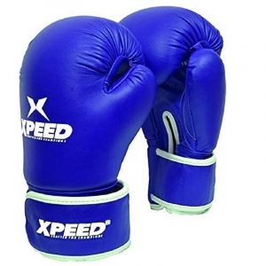 XPEED Light Contest Boxing Gloves MMA Training Gloves Leather Boxing Gloves for for Men Adult Sparring Fight Boxing Gloves and Kickboxing for Heavy Punch Bags