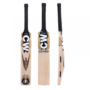 CW Maestro Kashmir Willow Cricket Bat Club Play Tournament Level Full Size Adult Short Handle Genuine Kashmir Willow Bat with Cover