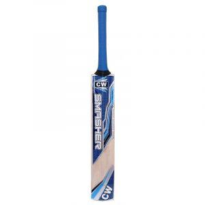 CW Smasher Blue Men Cricket Bat Full Size Senior Cricket Bat Club Cricket Training & Practice Cricket Bat Light Weight Thick Blade Free Cover Included