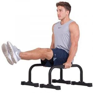 XPEED Fitness Black Dip Bars Stand,