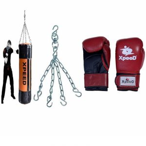 XPEED Boxing Set Solid Synthetic Le