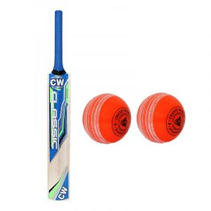 CW Classic Bat Ball Popular Willow Bat Tennis Bat Tennis Cricket Bat for Heavy Tennis Play Full Size Adult Men Tennis Cricket Bat