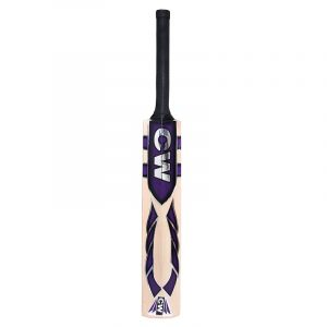 CW Force Kashmir Willow Bat with Ball Cricket Bats for Leather Ball Cricket Bat with Hanging Ball Leather Hanging Ball Full Size Short Handle Free Bat with Cover